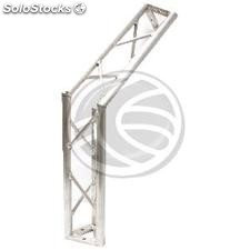 Truss triangular silver aluminum 150mm 135-degree angle (XT44)