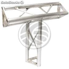 Truss triangular silver aluminum 150mm T4 triple connection (XT09-0002)