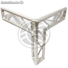 Truss triangular silver aluminum triple 150mm T3 connection (XT08-0002)