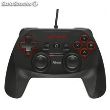 Trust - GXT 540 Gamepad PC,Playstation 3 Negro
