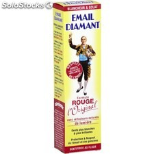 Tube 50ML dentifrice rouge email diamant