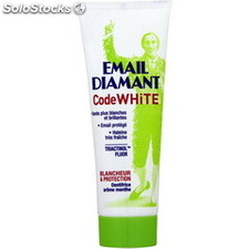 Tube 75ML dentifrice code white email diamant