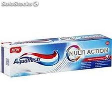 Tube 75ML dentifrice multi action aquafresh