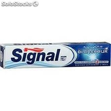 Tube 75ML dentifrice systeme blancheur signal