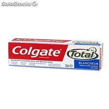 Tube 75ML dentifrice total blancheur colgate