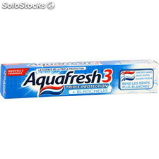 Tube 75ML dentifrice triple protetion blancheur aquafresh