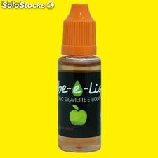 Tube-e-Liquid 10ml- Sabor Manzana - Eliquid 18mg nicotina cigarrillo electrónico