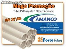 Tubo esgoto 100mm amanco