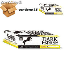 Tubos para rellenar dark horse 200 extra long 25MM