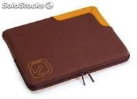 "Tucano - funda neopreno portatil 15,4"" marron"