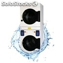 Tumble dryer overlaid-mod. eds 16 twin-drum in stainless steel-electrically