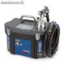 Turbina electrica para pintar aire caliente graco hvlp 9.5 turboforce de graco