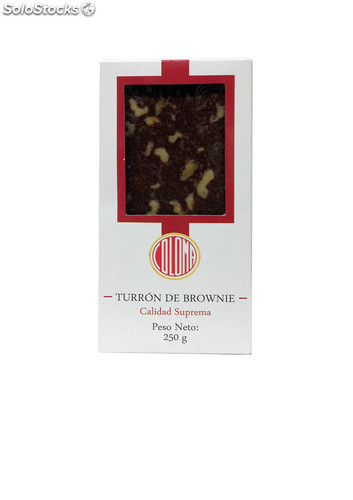 Turrón de Brownie Suprema 250g