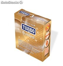 "TUXIDO ""Dotted"" latex condoms"