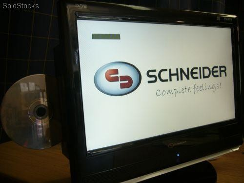 tv 16 39 lcd tdt dvd usb 12volt 220v schneider. Black Bedroom Furniture Sets. Home Design Ideas