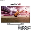 "Tv Cinema 3d led 32"" hd lg 32la613b com Conversor 2d - 3d + 4 Óculos 3d"