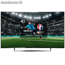 "Tv led Hisense 55"" LTDN55K720WTSEU Curvo uhd 4K Smart tv Ultra Slim"