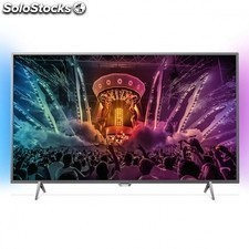 "Tv led philips 49pus6401 - 49""/123cm 4k uhd - ambilight 2 lados - 350cd/m2 -"