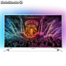 "Tv led philips 65pus6521 - 65""/165cm 4k uhd - ambilight 3 lados - 400cd/m2 -"