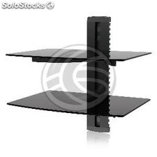 TV shelf dual wall to fix 38x28cm (OV07)