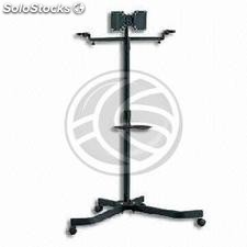 "TV stand support with wheels for flat screen 10""-32\"" VESA compatible (OU46)"
