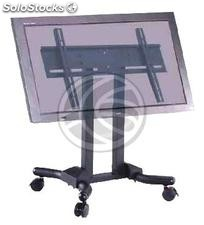 TV stand with wheels for flat screen 37-46 inch (OM21-0002)