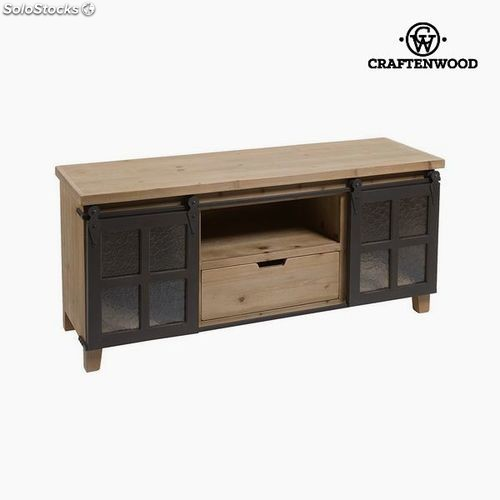 dekoration geschirr haus k che m bel tv tisch tanne 120 x 55 x 38 cm by craftenwood angebote. Black Bedroom Furniture Sets. Home Design Ideas