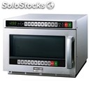 Twin touch microwave oven with twin control panel - stainless steel - mod.