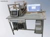 Two-axle servo motor control trainer for technical schools - DL-SF1