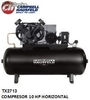 Tx2713 Compresor 10 hp horizontal Campbell (Disponible solo para Colombia)
