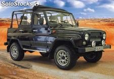 UAZ Hunter 4x4, el jeep ruso
