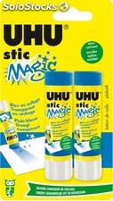 Uhu 2BAT colle magic bleu 8.2