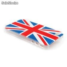 uk flag estojo protetor para Apple iPhone 4