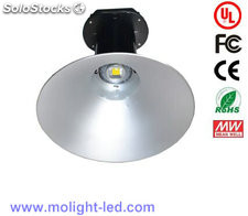 Ul 100w lámpara minera led Bridgelux Meanwell led Highbays light 277v 10000lm