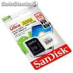 Ultra android sandisk sd micro + adap hc class 10 64GB 48MB/s sdsqunb-064G-GN3MA