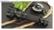 Ultra bright cree led Flashlight Torch, portable charger+battery