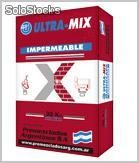 Ultra - mix mortero exterior impermeable 3 : 1 proyectable