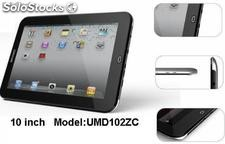 "ultra-thin 10"" mid/tablet pc/tablets/umpc/umd cpu imapx210 @1GHz/512m/4gb"