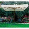 Umbrella central pole-mod. palladium ballroom-wooden frame ombrellone a palo