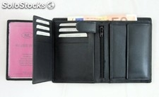 Uni Wallet Black Cowhide Nappa