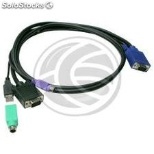Uniclass Prima Cable kvm Switch PS2 and usb 1.8m (UM21)