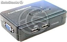 Uniclass usb kvm Switch vga 1KVM a mini 2CPU (UM51)