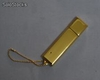 unidad flash usb de metal en oro