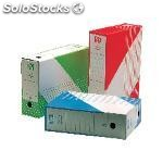 Unisystem archivador definitivo definiclas color folio 345X250X100MM verde