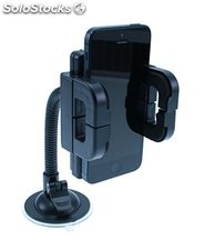 Universal in car holder for smartphones and other mobile devices,