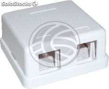 Universal junction box of 2 sockets compatible TB110 (RX82)