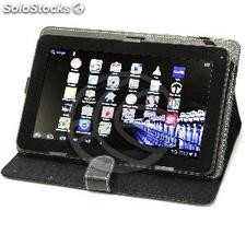 "Universal Leather Portfolio case for tablet 7 "" (KP71)"