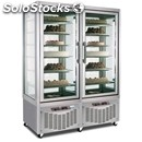 Upright display fridge - mod. tutto show n 800 - capacity lt. 420 + lt 420 -