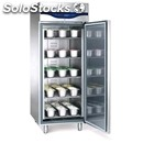 Upright fridge - stainless steel aisi 304 - ice cream specific - mod. ice 70 btv