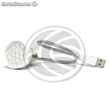USB 18 LED Lamp with E27 halogen light bulb (UC42)